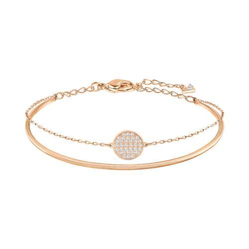 【国际品牌】SWAROVSKI施华洛世奇镀玫瑰金姜状链手环