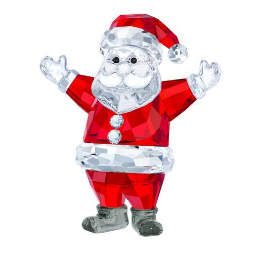 【国际品牌】SWAROVSKI施华洛世奇水晶圣诞老人摆饰7.1 x 6.1 x 3.5 cm