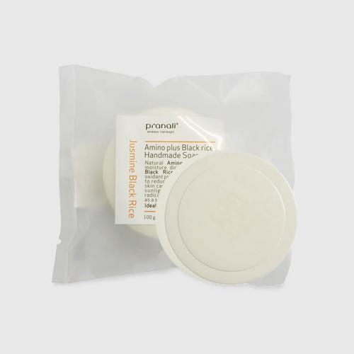 【直邮】Pranal茉莉花黑米氨基酸精油皂100g