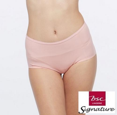 BSC SIGNATURE女士蕾丝半短内裤粉红M