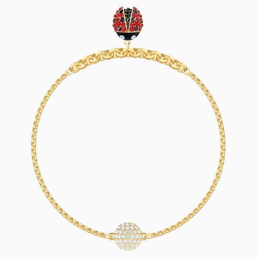 【国际品牌】SWAROVSKI施华洛世奇镀金瓢虫手链