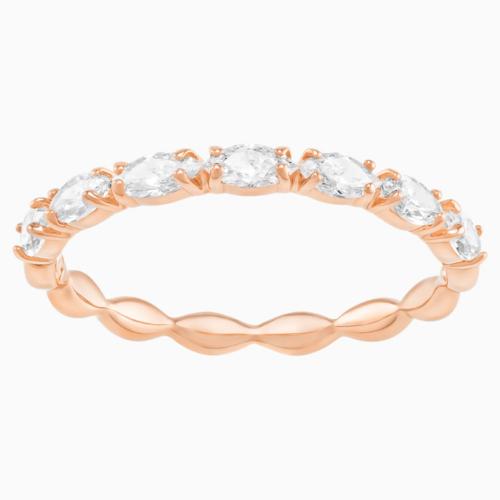 【国际品牌】SWAROVSKI施华洛世奇镀玫瑰金戒指55号
