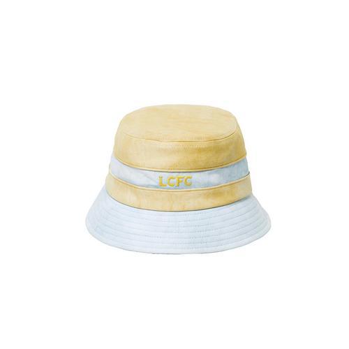 LCFC莱斯特城制造天然泰国植物染料晕染秋叶黄粉蓝渔夫帽