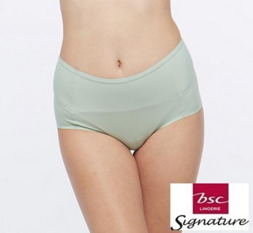 BSC SIGNATURE女士蕾丝半短内裤淡绿XL