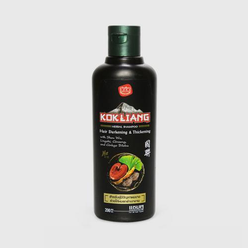 KOKLIANG国联黑发护理草药洗发水200ml