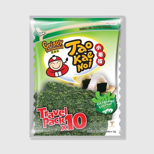 【直邮】TaoKaeNoi小老板原味香脆海苔72g