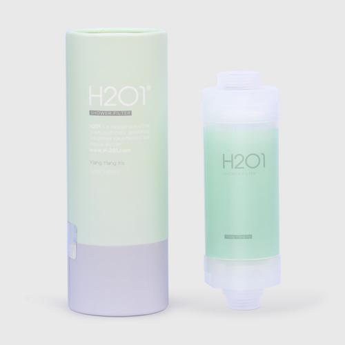【直邮】H2O1沐浴花洒过滤器 依兰和鸢尾香型 160g