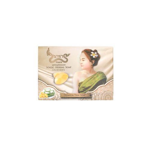 Nara天然金蚕丝蚕茧皂传统手工精油洗脸沐浴皂60g*3