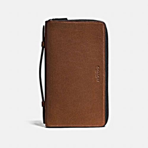 【国际品牌】COACH蔻驰男士双层拉链手提包手拿包