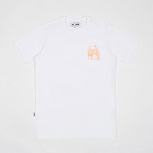 【直邮】MAHANAKHON玛哈那空泰国大象兰纳城白色印花短袖T恤S码