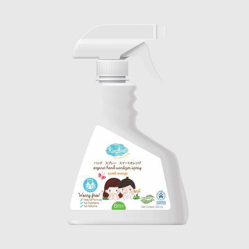 Kindee金迪儿儿童手部清洗喷雾(六个月以上)200ml