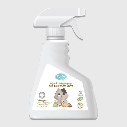 【直邮】Kindee金迪儿天然防护液(玩具清洗专用)281g