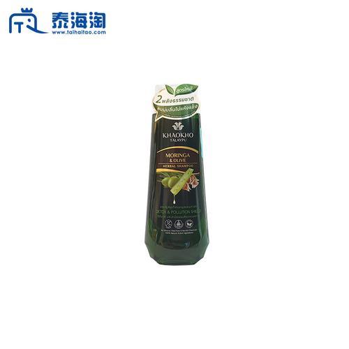 KHAOKHO TALAYPU辣木橄榄深层洁净滋养光泽洗发水330ml