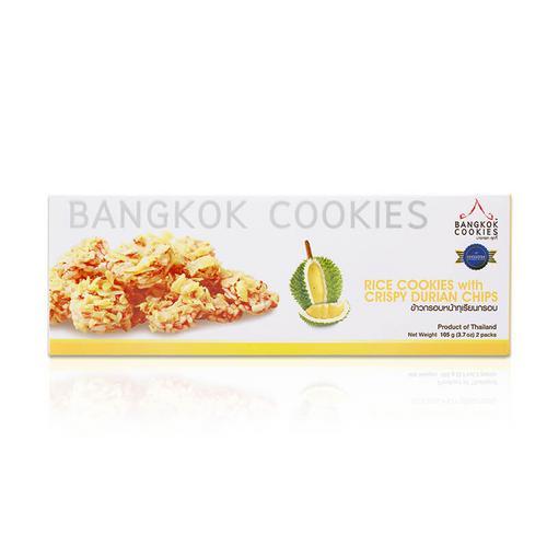 BANGKOK COOKIES榴莲味香米米饼100g