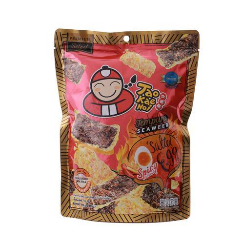 【直邮】TaoKaeNoi小老板辣味天妇罗咸蛋黄海苔110g