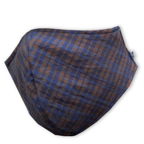 【直邮】IMPANI布艺深蓝棕环保可洗口罩