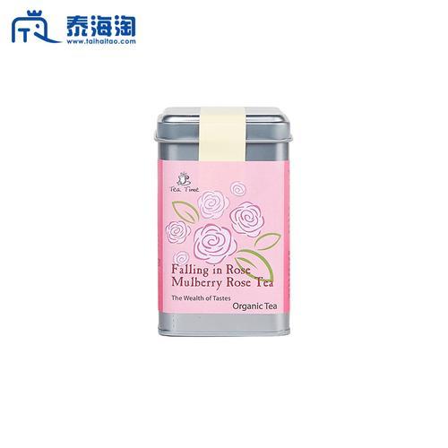 TEA TIME TODAY玫瑰桑葚花草茶