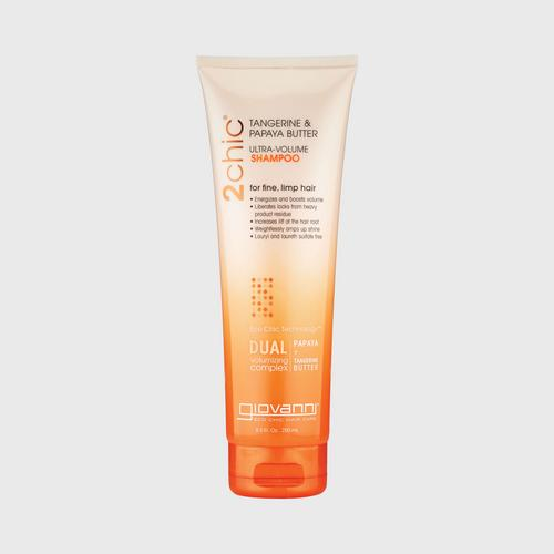 GIOVANNI柑橘木瓜油洗发水250ml