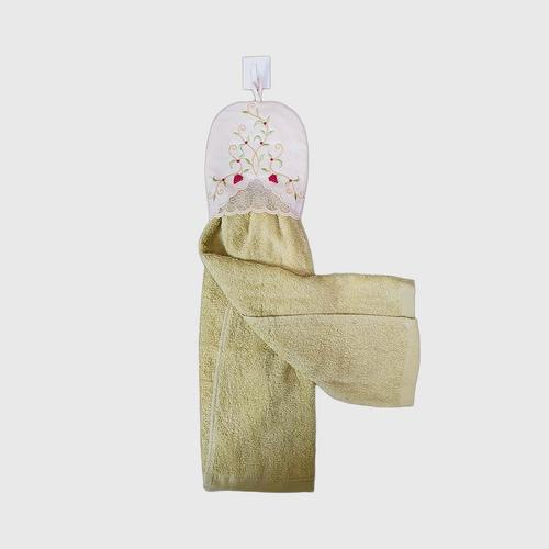 【直邮】COTTON FANTASY花卉厨房手巾绿色