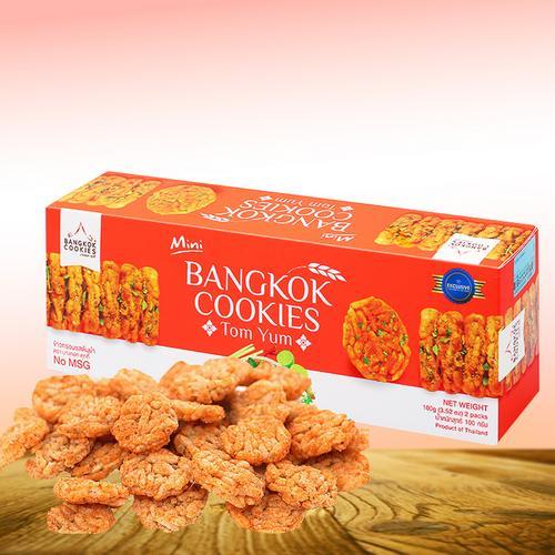 BANGKOK COOKIES冬阴功味香米米饼100g