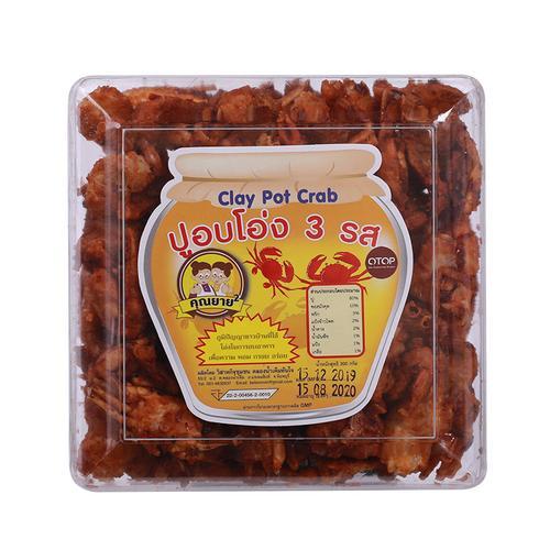 KHUN YAAI泰国三味即食小海蟹 OTOP