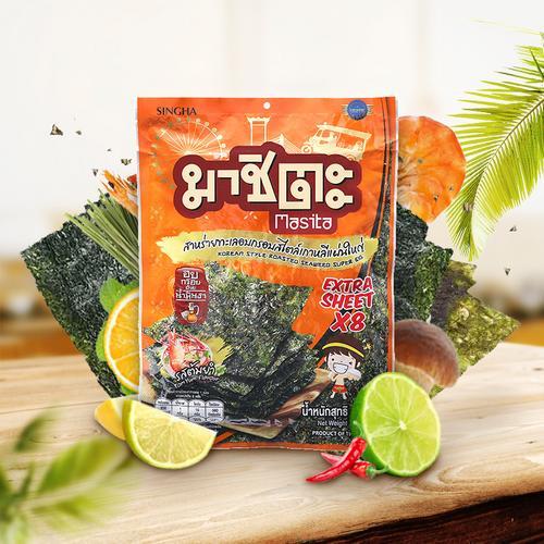 Masita韩式炙烤冬阴功味海苔32g