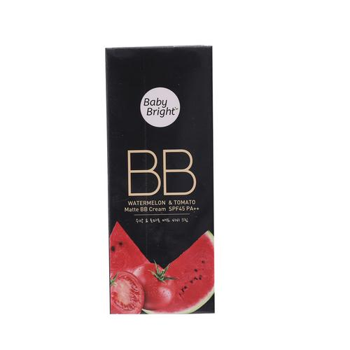 【直邮】BABY BRIGHT西瓜番茄精华哑光BB霜30g