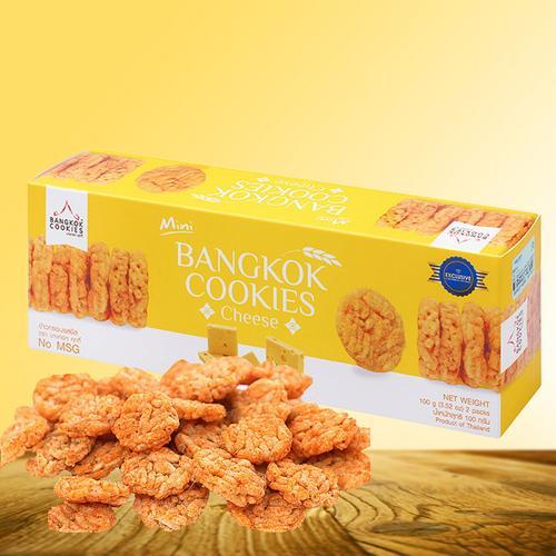 BANGKOK COOKIES奶酪味香米米饼100g