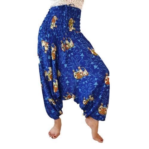 【直邮】WATER SCENT泰国纯棉泰式长裙深蓝