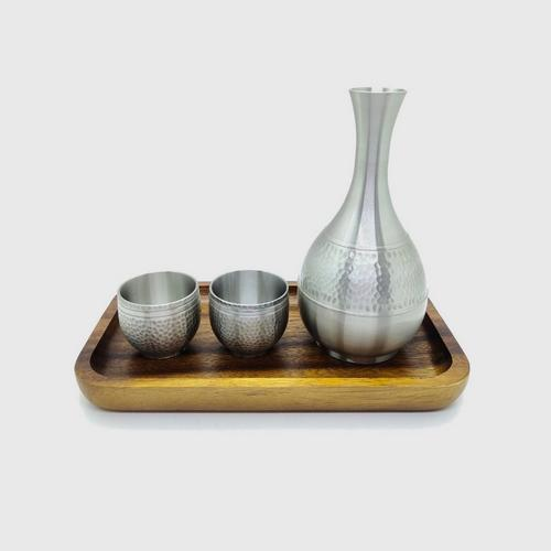【直邮】BANGKOK PEWTER泰锡制清酒壶杯套装