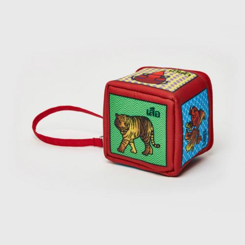 【直邮】KINGPOWER泰国传统孩童玩具图案零钱包