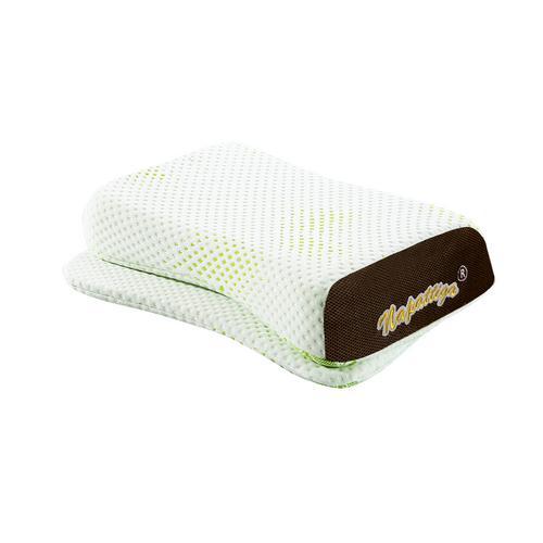 【直邮】Napattiga娜帕蒂卡泰国乳胶枕头原装进口天然无颗粒颈椎按摩枕头护肩枕