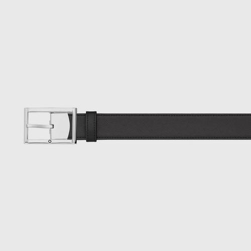 【国际品牌】Montblan万宝龙男士黑色皮带120cm