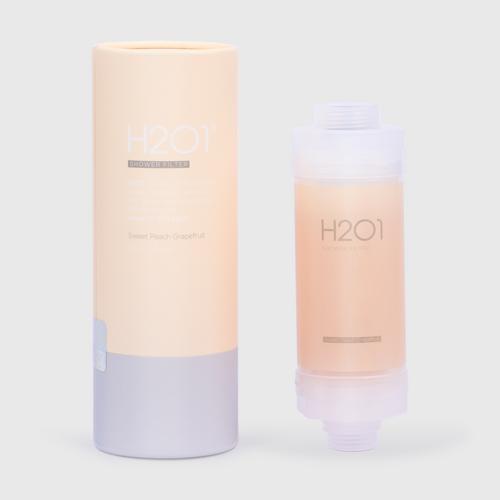【直邮】H2O1沐浴花洒过滤器 蜜桃和葡萄柚香型 160克