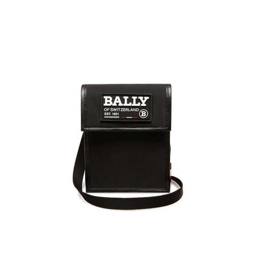 BALLY男士斜挎包黑色