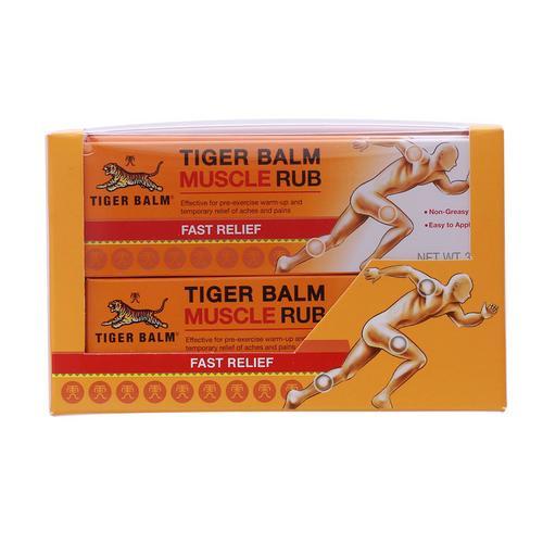 【直邮】TIGER BALM虎标虎牌老虎牌肌肉酸痛膏30g*4