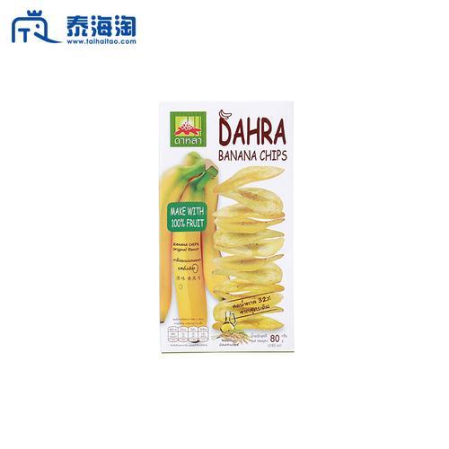 DAHRA原味低脂香蕉片80g OTOP