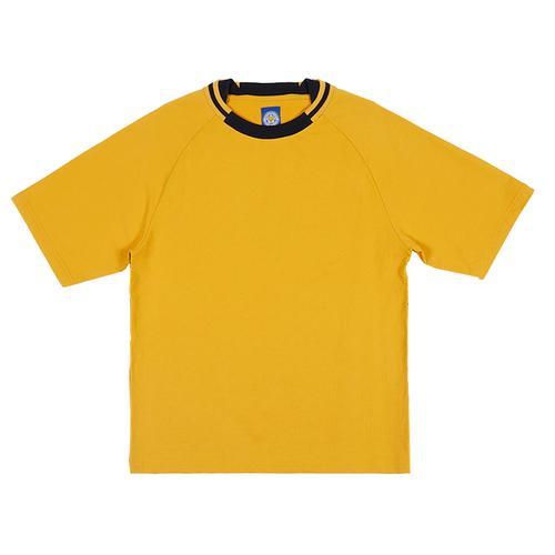 莱斯特城俱乐部SS20 宽松版T恤 - 黄色-M
