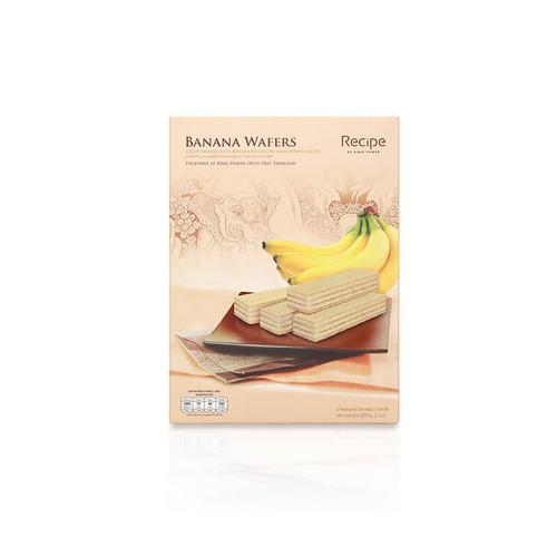 【直邮】KINGPOWER王权免税香蕉味威化饼200g