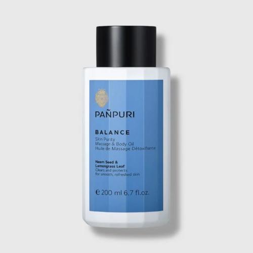 【直邮】PANPURI泰国平衡排毒滋养保湿抗炎全身舒压身体按摩精油200ml