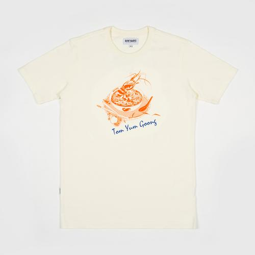 MAHANAKHON玛哈那空泰式美味冬阴功短袖T恤白色S码