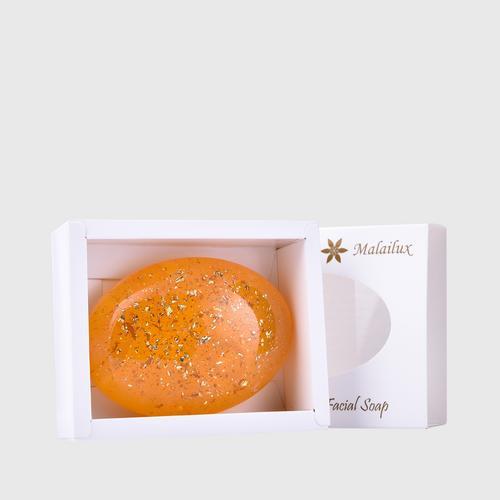 【直邮】Malailux黄金丝蛋白蜗牛皂100g