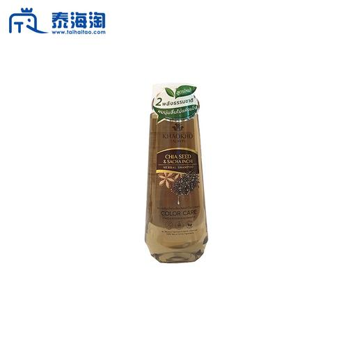 KHAOKHO TALAYPU奇亚印加果水润保湿防枯染发色彩护理洗发水330ml