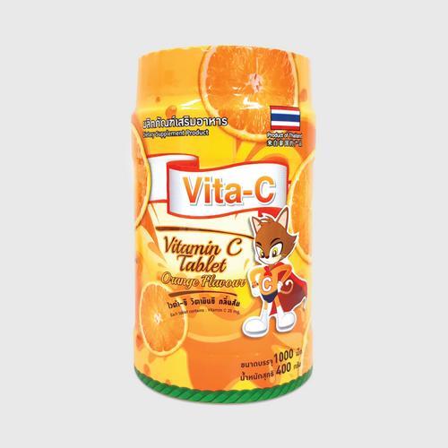 【直邮】VITA-C 维生素咀嚼片橙味