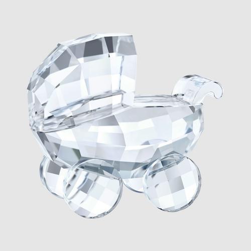 【国际品牌】SWAROVSKI施华洛世奇水晶婴儿车摆饰3 x 3.4 x 1.9 cm