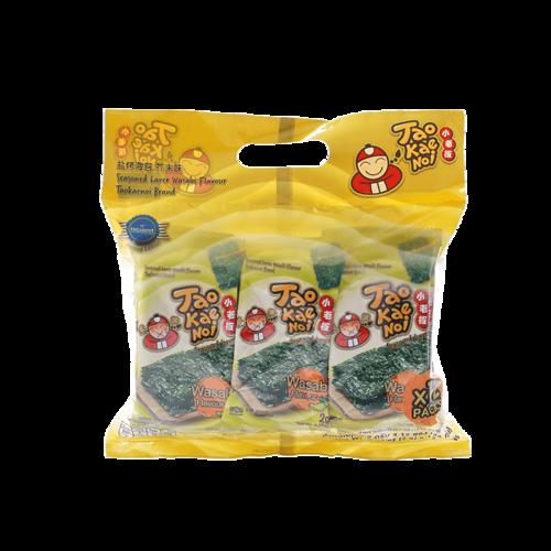 【直邮】TaoKaeNoi小老板芥末海苔小袋分享装2g*12