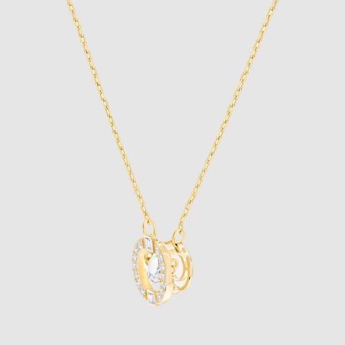 【国际品牌】SWAROVSKI施华洛世奇闪耀之舞圆环金色水晶项链
