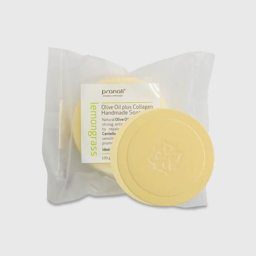 【直邮】Pranal柠檬香胶原蛋白精油皂100g