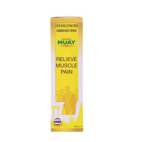 NAMMAN MUAY天然草药强效运动肌肉损伤按摩膏100g*3