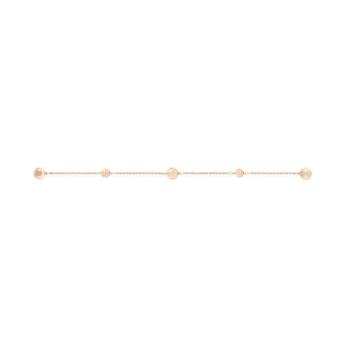 SWAROVSKI施华洛世奇圆形镀玫瑰金手链17.3 cm